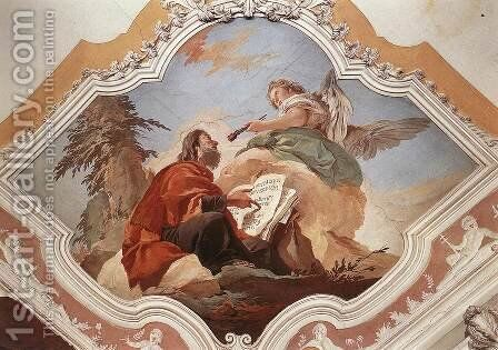 The Prophet Isaiah by Giovanni Battista Tiepolo - Reproduction Oil Painting