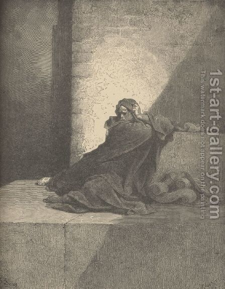 Baruch by Gustave Dore - Reproduction Oil Painting