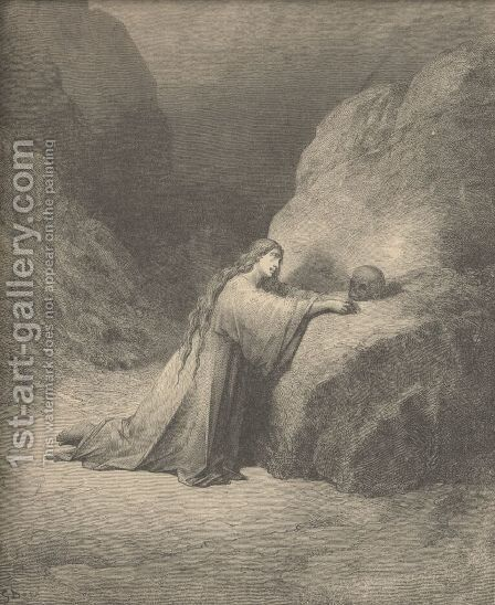 Mary Magdalene by Gustave Dore - Reproduction Oil Painting