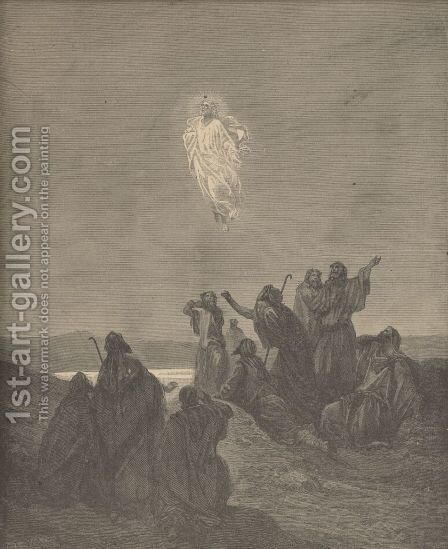 The Ascension by Gustave Dore - Reproduction Oil Painting