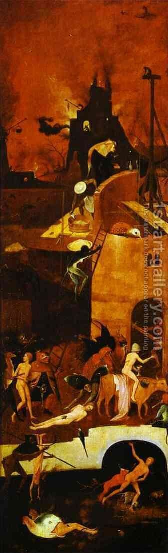 Hell 3 by Hieronymous Bosch - Reproduction Oil Painting