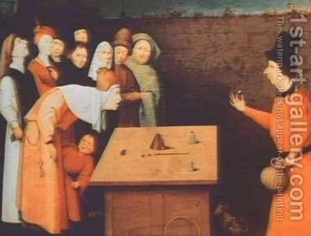 The Magician by Hieronymous Bosch - Reproduction Oil Painting