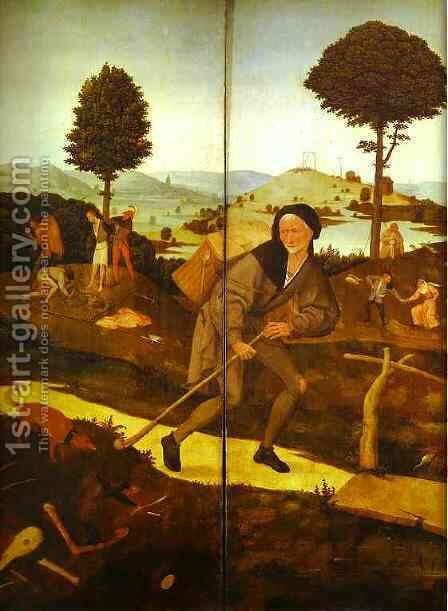 The Wayfarer 2 by Hieronymous Bosch - Reproduction Oil Painting