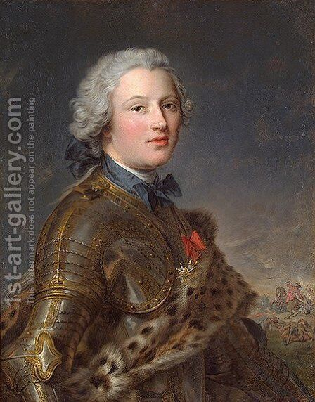 Pierre-Victoire, Baron of Besenval by Jean-Marc Nattier - Reproduction Oil Painting
