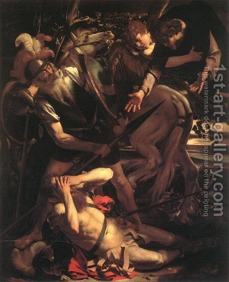 The Conversion of St. Paul by Caravaggio - Reproduction Oil Painting
