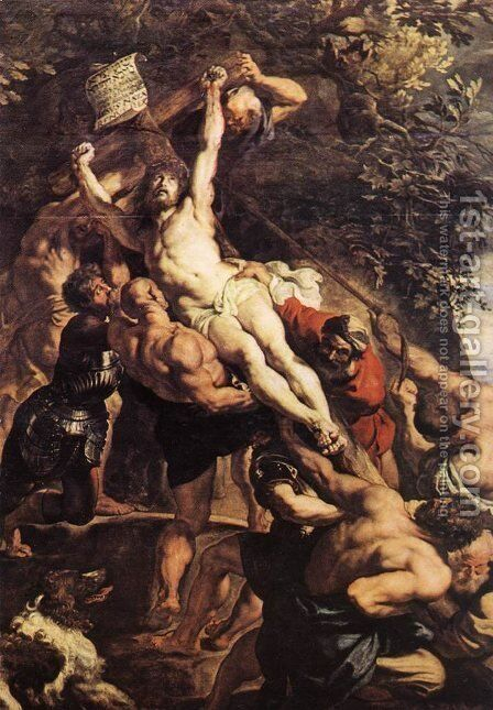 Centre panel by Rubens - Reproduction Oil Painting