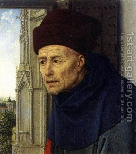 St Joseph by Rogier van der Weyden - Reproduction Oil Painting