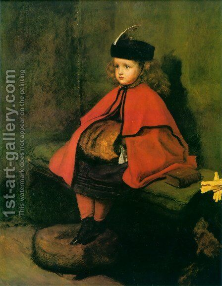 My First Sermon by Sir John Everett Millais - Reproduction Oil Painting