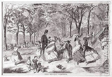 The Boston Common by Winslow Homer - Reproduction Oil Painting