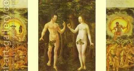 The Fall of Man by Albrecht Altdorfer - Reproduction Oil Painting