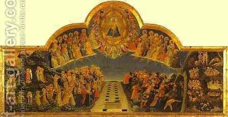 The Last Judgement by Angelico Fra - Reproduction Oil Painting