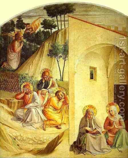 Agony in the Garden by Angelico Fra - Reproduction Oil Painting