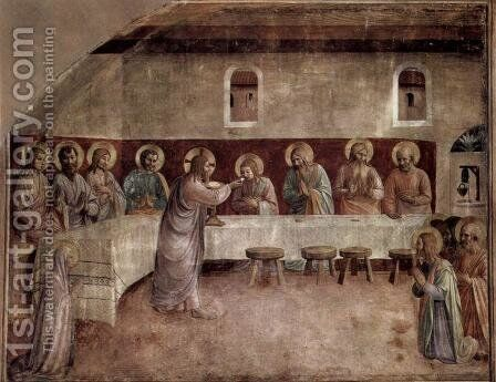 Last Supper by Angelico Fra - Reproduction Oil Painting