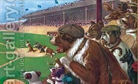 Baseball 1 2 3 by Cassius Marcellus Coolidge - Reproduction Oil Painting