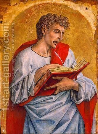 St. John the Evangelist by Carlo Crivelli - Reproduction Oil Painting