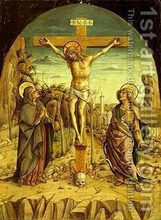 Crucifixion by Carlo Crivelli - Reproduction Oil Painting