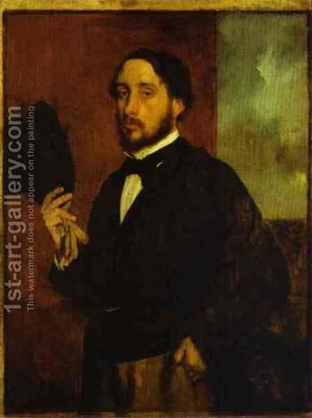 Self Portrait 2 by Edgar Degas - Reproduction Oil Painting