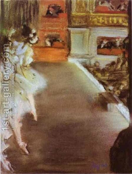 Dancers in the Old Opera House by Edgar Degas - Reproduction Oil Painting