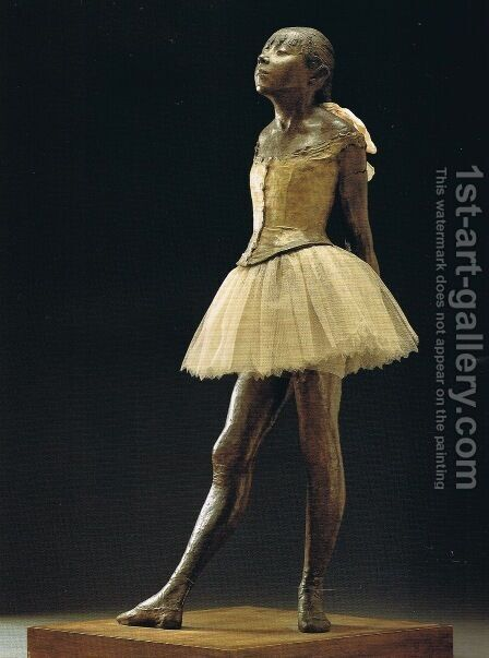 Little Dancer of Fourteen Years by Edgar Degas - Reproduction Oil Painting