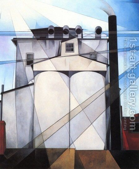 My Egypt by Charles Demuth - Reproduction Oil Painting