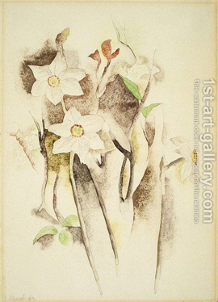 Narcissus by Charles Demuth - Reproduction Oil Painting