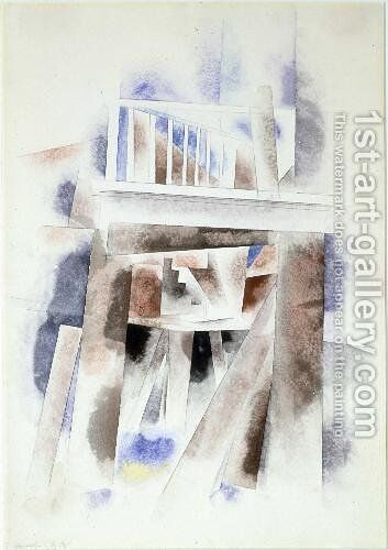 Architecture by Charles Demuth - Reproduction Oil Painting