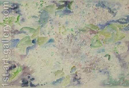 Pattern of Lilacs by Charles Demuth - Reproduction Oil Painting