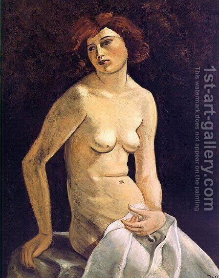 Young Girl by Andre Derain - Reproduction Oil Painting