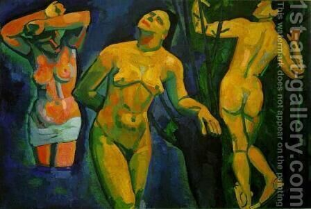 Bathers 2 by Andre Derain - Reproduction Oil Painting
