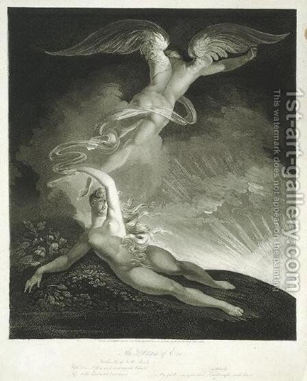 The Dream of Eve by Johann Henry Fuseli - Reproduction Oil Painting
