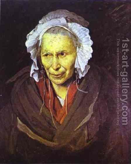The Madwoman by Theodore Gericault - Reproduction Oil Painting