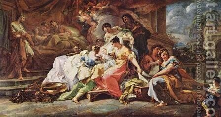 The Birth of Mary by Corrado Giaquinto - Reproduction Oil Painting