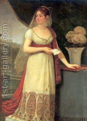 Josephine Tasher De La Pagerie by Antoine-Jean Gros - Reproduction Oil Painting