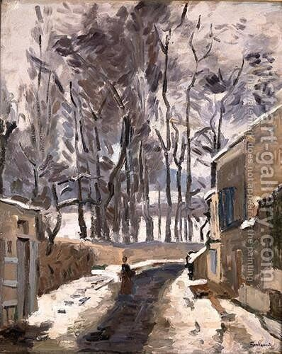 Landscape of Louveciennes by Armand Guillaumin - Reproduction Oil Painting