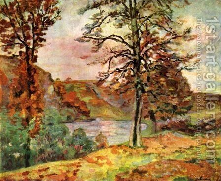 Landscape 3 by Armand Guillaumin - Reproduction Oil Painting
