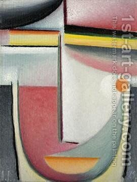 Symphony in Pink by Alexei Jawlensky - Reproduction Oil Painting