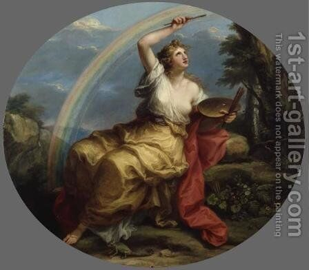 Colour by Angelica Kauffmann - Reproduction Oil Painting