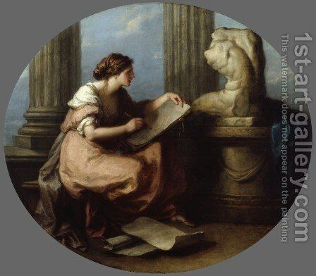 Design by Angelica Kauffmann - Reproduction Oil Painting