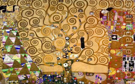 The Tree Of Life Painting By Gustav Klimt Reproduction 1st Art Gallery