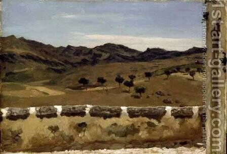 A View in Spain by Lord Frederick Leighton - Reproduction Oil Painting