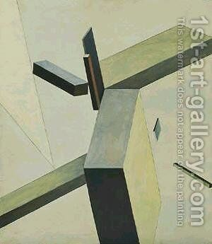 Composition by Eliezer (El) Markowich Lissitzky - Reproduction Oil Painting