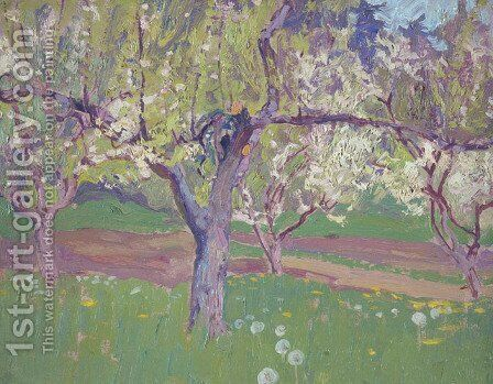 Orchard at York Mills by James Edward Hervey MacDonald - Reproduction Oil Painting