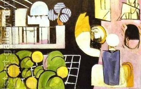 The Moroccans by Henri Matisse - Reproduction Oil Painting