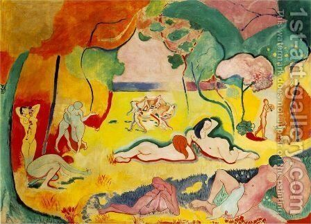 The Joy of Life by Henri Matisse - Reproduction Oil Painting