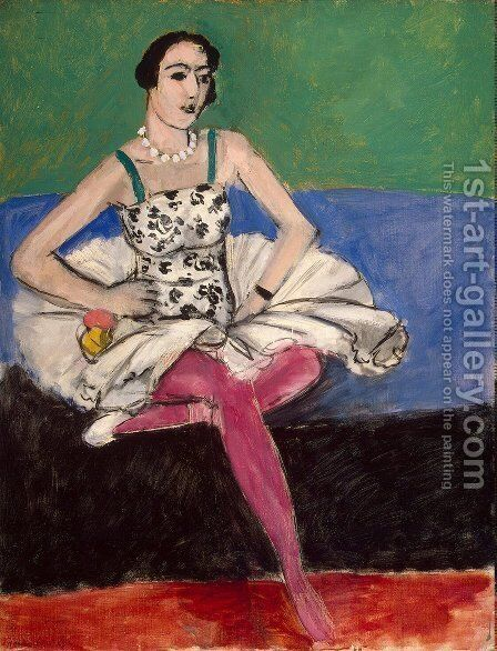 The Ballet Dancer by Henri Matisse - Reproduction Oil Painting