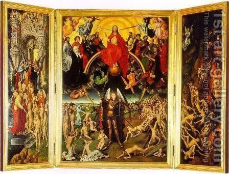 The Last Judgement Triptych by Hans Memling - Reproduction Oil Painting