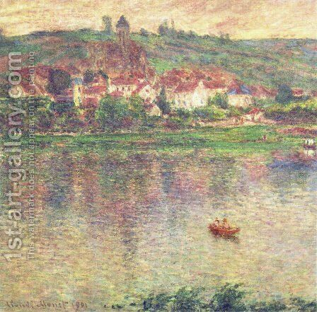 Vetheuil by Claude Oscar Monet - Reproduction Oil Painting