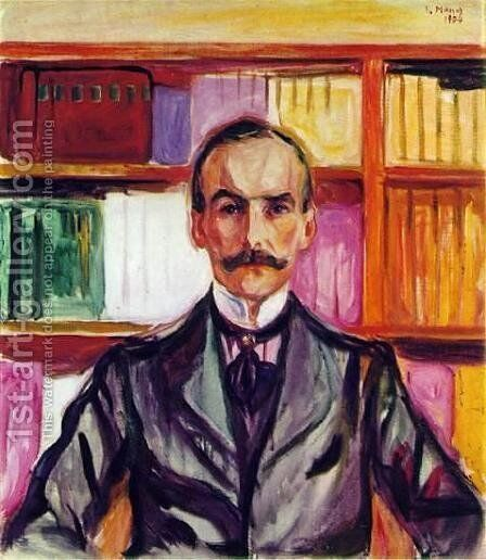 Count Henry Kessler by Edvard Munch - Reproduction Oil Painting