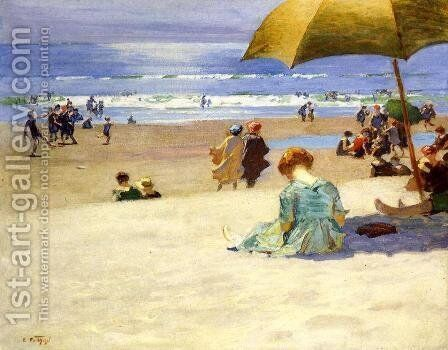 Hourtide by Edward Henry Potthast - Reproduction Oil Painting