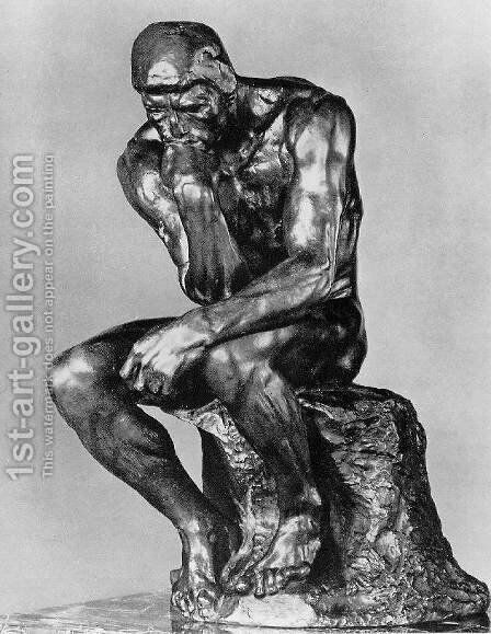 The Thinker 2 by Auguste Rodin - Reproduction Oil Painting